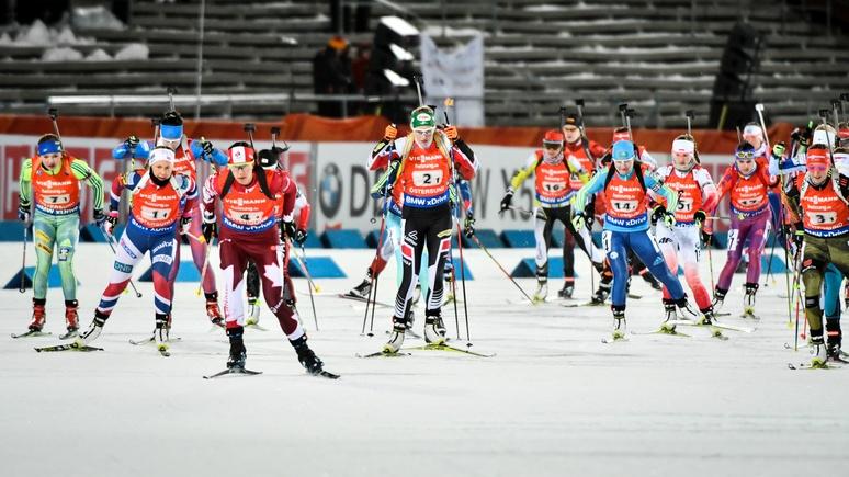 4 биатлонные сборные могут бойкотировать этап Кубка мира вТюмени