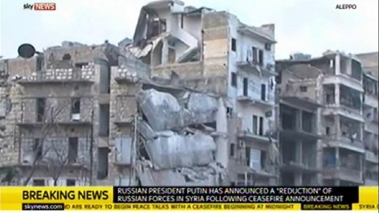 Sky News: Москва и Анкара объявили перемирие в Сирии — это обнадёживает