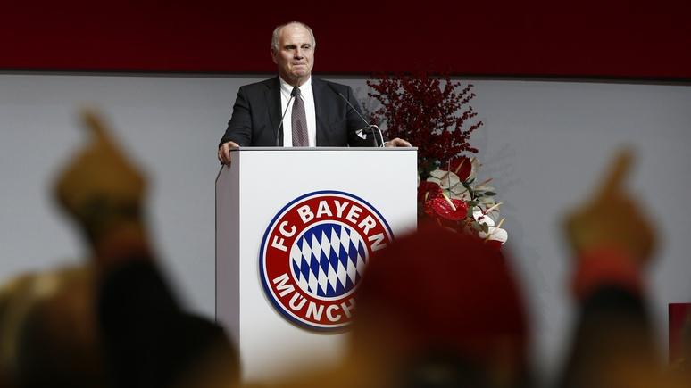 TZ: президент ФК «Бавария» осудил антироссийские настроения в Германии