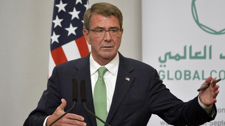 Глава Пентагона: Россия не борется с террористами в Сирии, а только мешает США