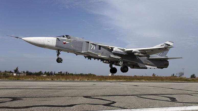 WSJ: российские самолеты не уступают американским дорогу в сирийском небе