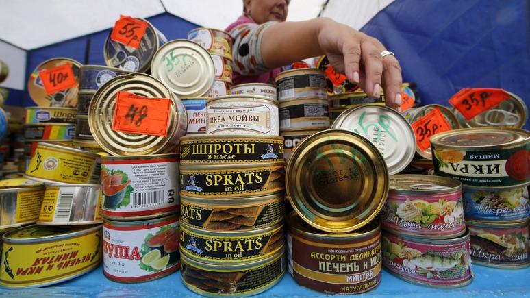 BaltNews: латвийским шпротам будет непросто вернуться на российский рынок