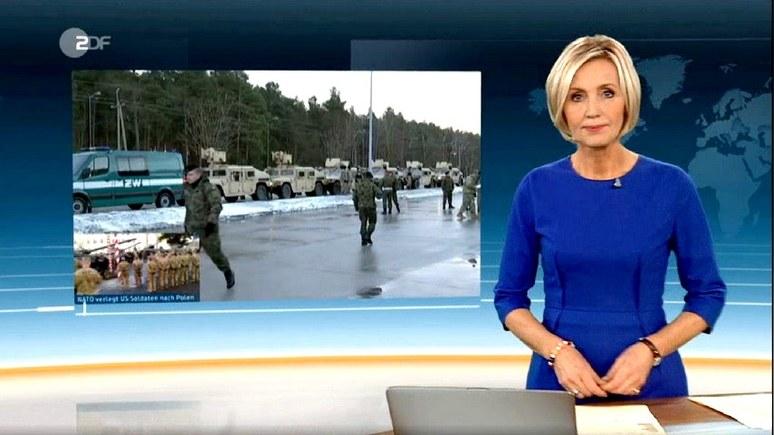 ZDF: «невероятно смертоносный» сигнал Москве отозвался протестами в Германии