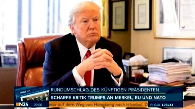 Трамп назвал наплыв мигрантов «катастрофической ошибкой» Меркель — N24