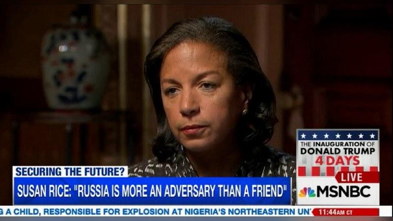 Сьюзан Райс: Россия стала противником США из-за своего «агрессивного поведения»