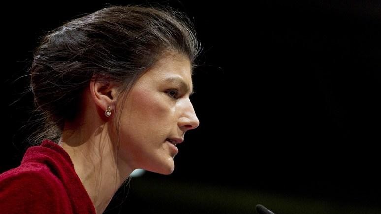 Лидер Левой партии ФРГ призвала распустить НАТО и сделать союз сРоссией