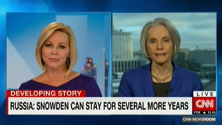 CNN: Сноудена не «подарят» США, а оставят в России ещё на пару лет