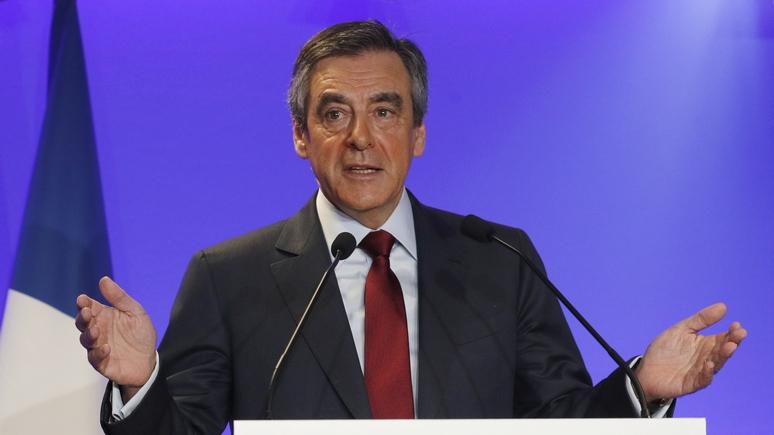 Украине и Грузии нет места ни в ЕС, ни в НАТО — кандидат в президенты Франции Фийон