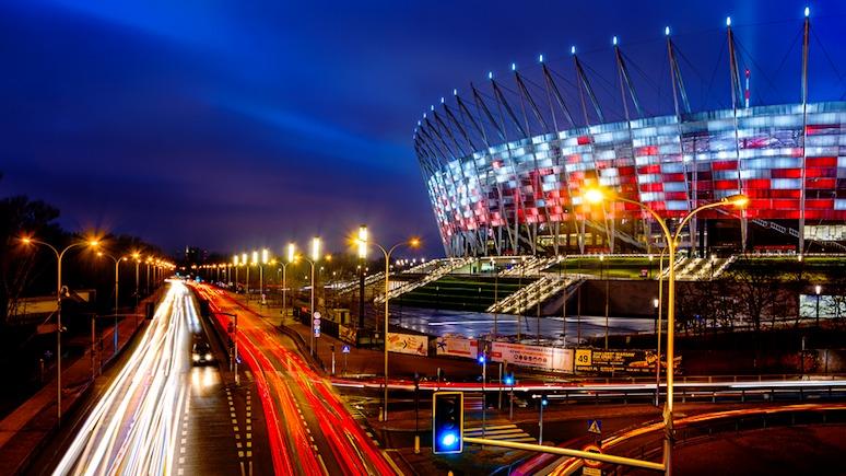 Wyborcza: на главном стадионе Варшавы началась «война с Россией»