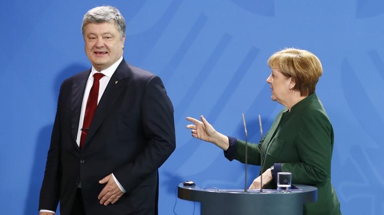 SZ: в Берлине подозревают Порошенко в намеренном обострении ситуации в Донбассе