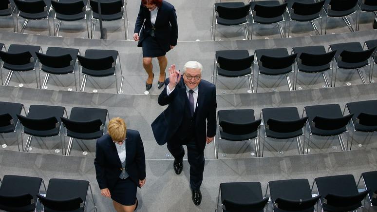 Владимир Путин поздравил Штайнмайера сизбранием его надолжность президента Германии