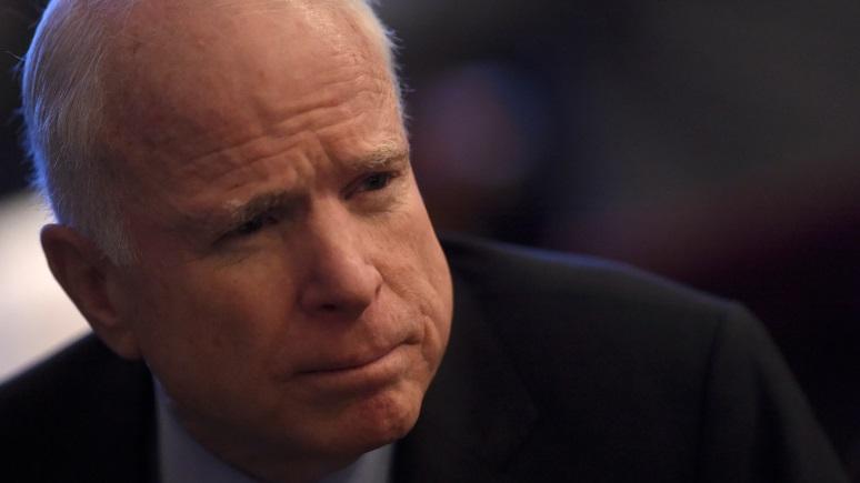 Маккейн: «гангстера» Путина переделать не получится