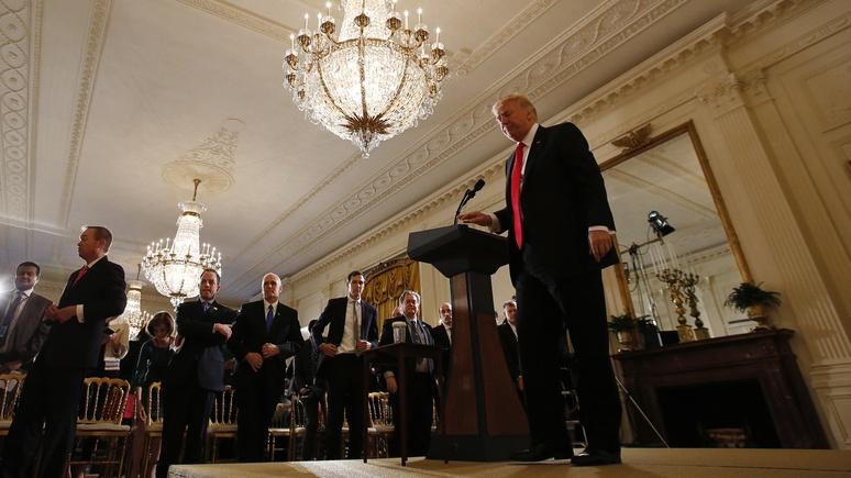 Мировые СМИ: пресс-конференция Трампа — незабываемое представление