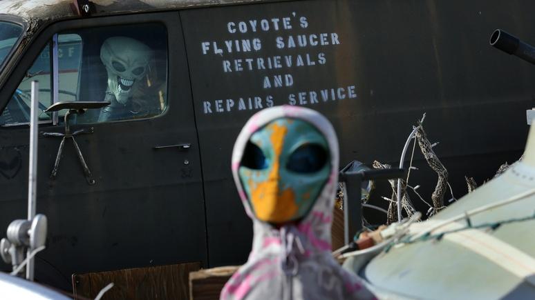 ЦРУ заявляет, что инопланетяне превратили отряд русских солдат вкамень