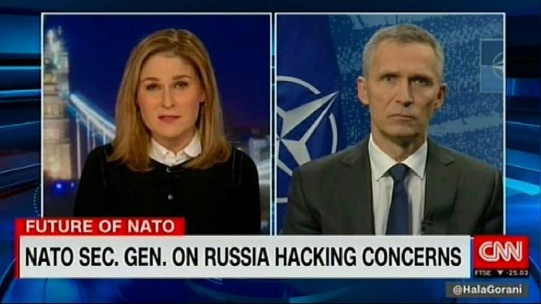 CNN: Столтенберг призвал Москву повлиять на «украинских сепаратистов»