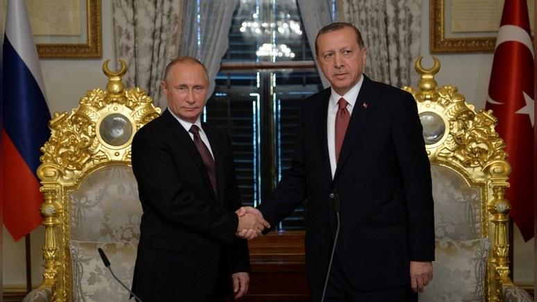 Науровне спецслужбРФ иТурции установлен доверительный контакт— Путин