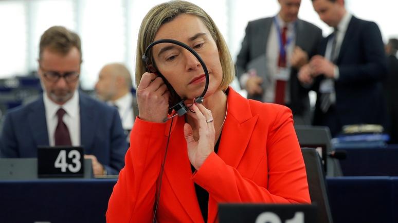 Чешские аналитики уличили Могерини в бездействии перед лицом российской угрозы