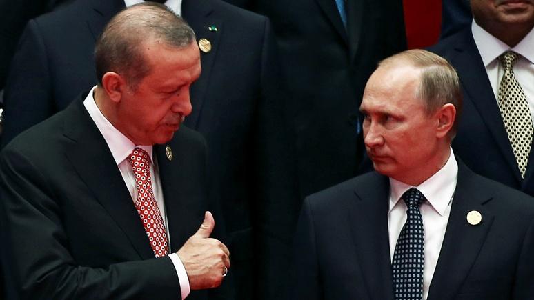 Atlantico: Россия и Турция снова вместе, но это временно