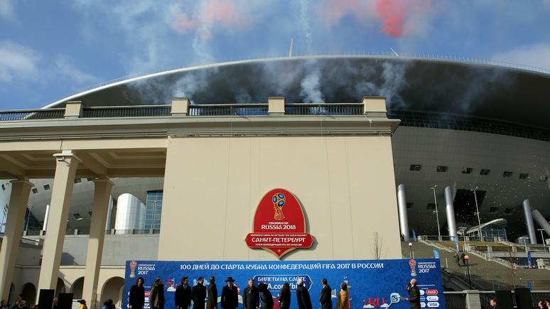 Настройке «Крестовского» трудились 110 рабочих изСеверной Кореи