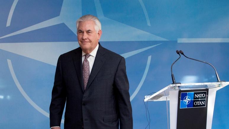 США призывает НАТО обсудить ответ наагрессию Российской Федерации