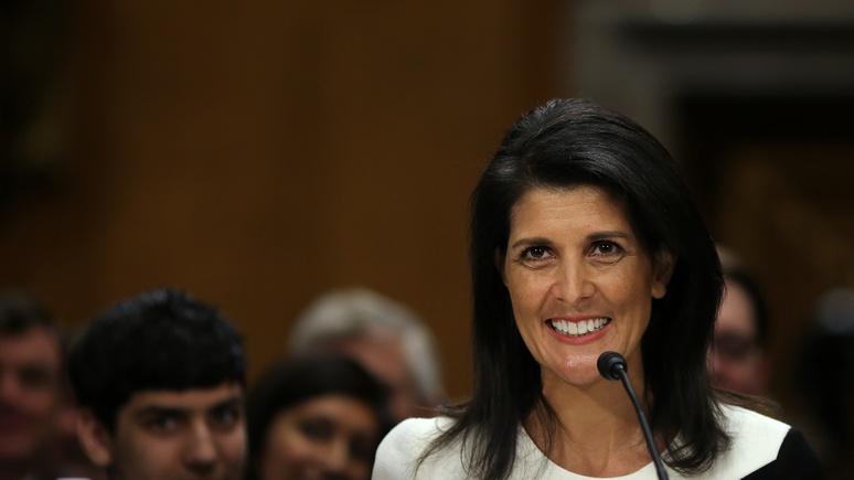 Постпред США при ООН сообщила, что Трамп незапрещал ейкритиковать Российскую Федерацию