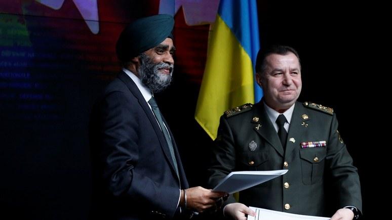 112 Украина: министр обороны Канады пообещал Киеву оружие