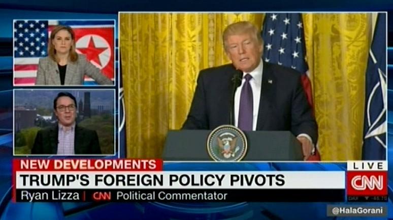 CNN: столкнувшись с реальностью, Трамп меняет свою внешнюю политику