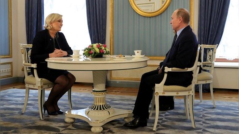 Ouest-France: Французы любят Путина, потому что не знают, как он относится к Европе