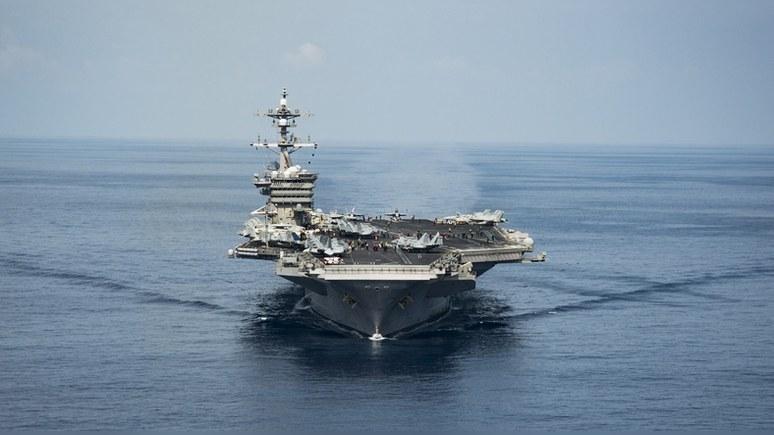Telegraph: корабли Китая и России присмотрят за «армадой» Трампа у корейских берегов