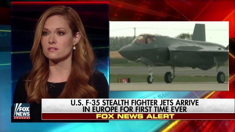 Fox News встретил аплодисментами прибытие F-35 в Европу