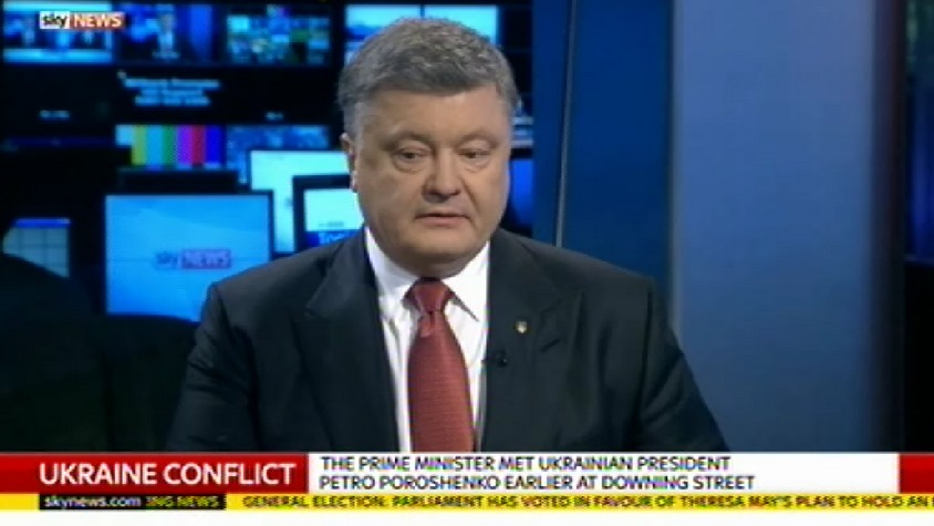 Порошенко: Россия в полной изоляции, ведь весь мир поддерживает Украину