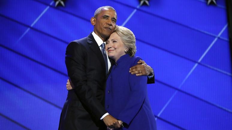 IBT: Клинтон извинилась перед Обамой за поражение — не давали покоя русские