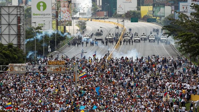 DWN: русские «заморозят» Венесуэлу по украинскому сценарию