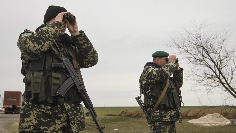 Всем сохранять спокойствие: Украина проведёт учения на границе с Крымом