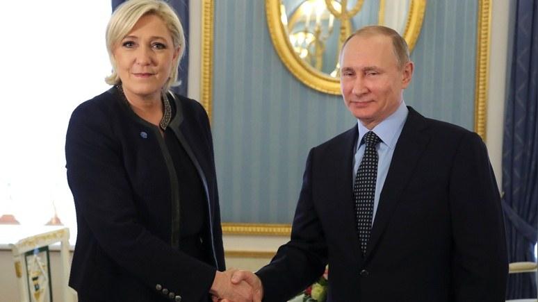 Reuters: только Ле Пен может помешать ЕС продлить антироссийские санкции
