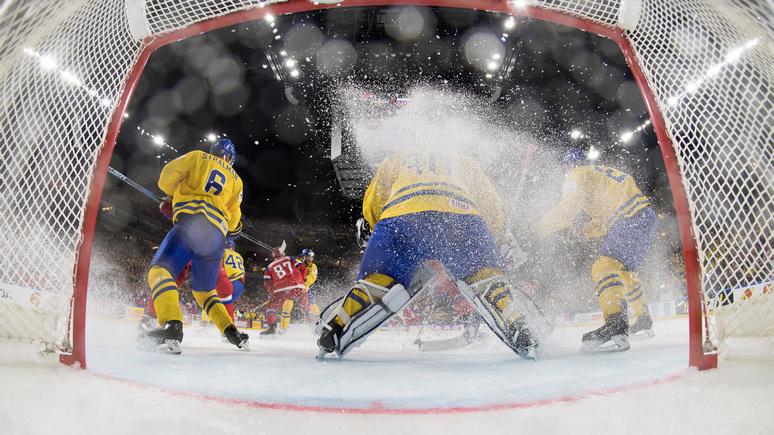 Шайбу Андронова нельзя было засчитывать— Тренер сборной Швеции