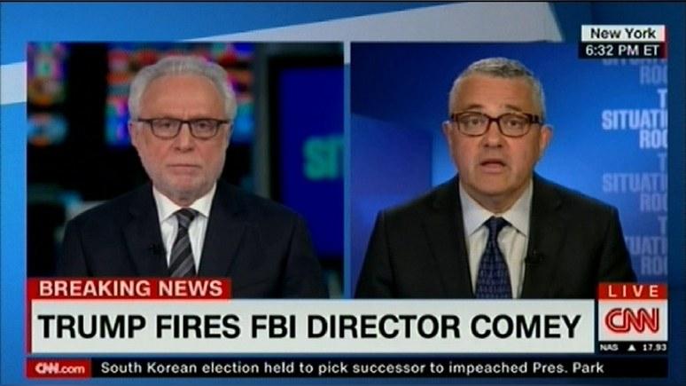 Аналитик CNN: главу ФБР уволили за расследование связей Трампа с Россией