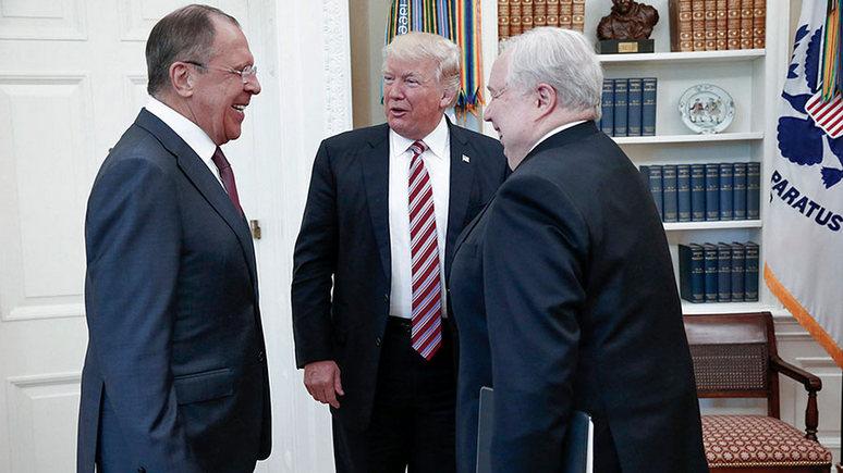 NYT: Лаврова и Трампа в Белом доме фотографировал русский — американцев не пустили