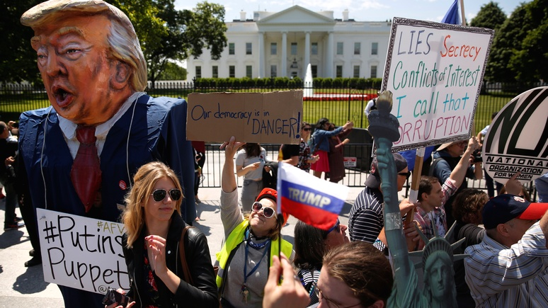 Nation: пока Россия праздновала День Победы, США разжигали холодную войну