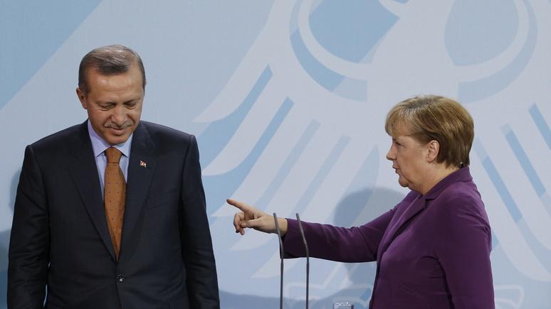 Der Spiegel: военное сотрудничество ФРГ и Турции оказалось под угрозой