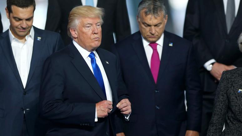 УТрампа инцидент спремьером Черногории прокомментировали вдухе Пескова
