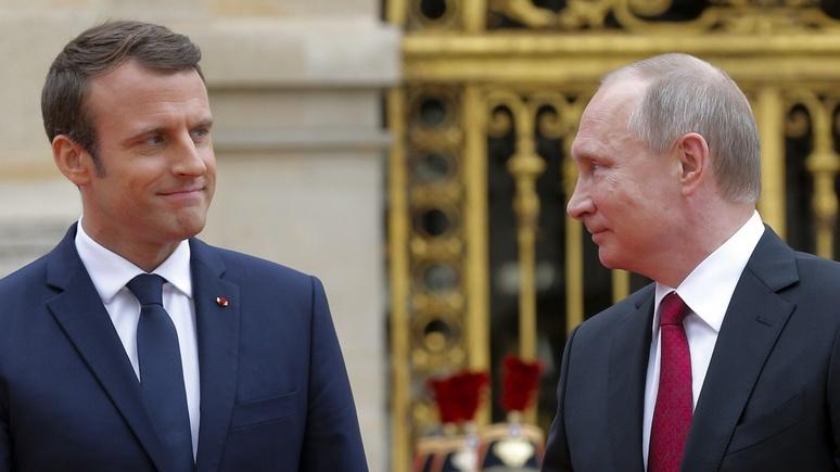 Der Standard: Макрон оказался достойным спарринг-партнёром для Путина и Трампа