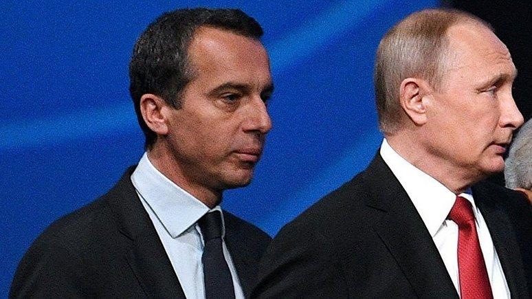 oe24: Канцлер Австрии встретился с Путиным и подчеркнул общие интересы