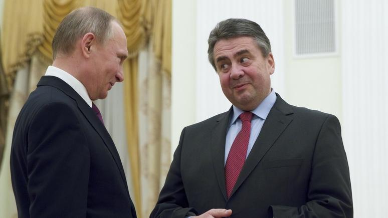 Путин и руководитель МИД Германии обсудили двусторонние отношения