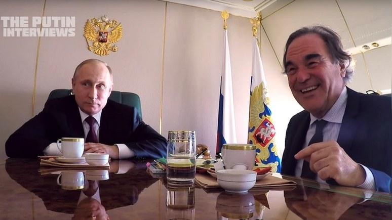 Путин предупредил Стоуна что ему достанется за фильм