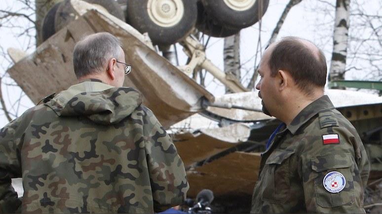 Польский телеканал поймал за руку авторов версии о взрыве на борту Ту-154