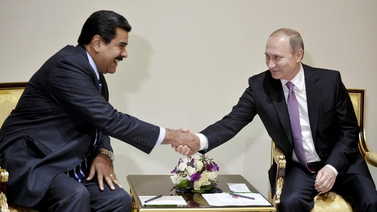 National Interest: Россия борется за наследие Чавеса — слишком много вложено
