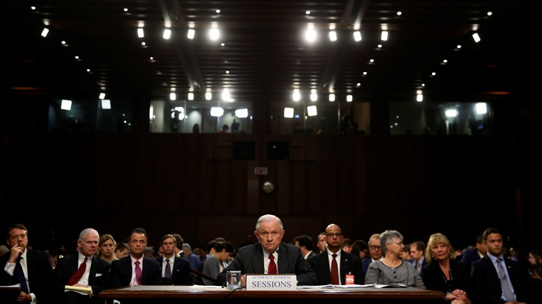 CNBC: генпрокурор США категорически отверг обвинения в сговоре с Россией