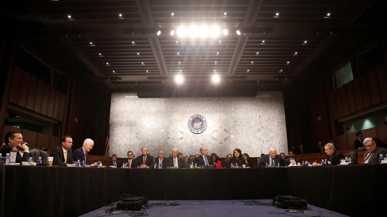 Newsweek: забирая у Трампа контроль над санкциями, сенат захватывает власть