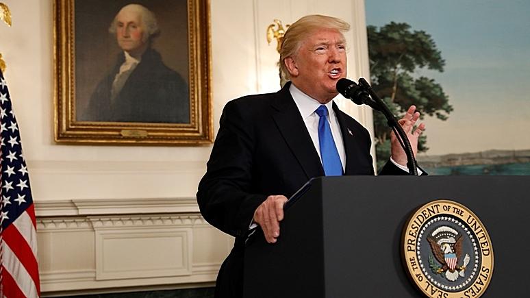 Independent: Трамп становится жертвой антироссийской предвзятости Вашингтона